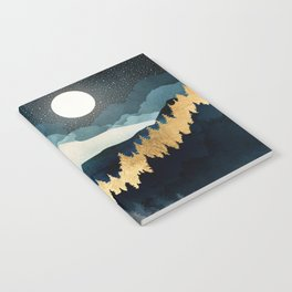 Indigo Night Notebook