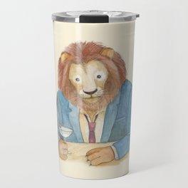 lion _ ligh Travel Mug
