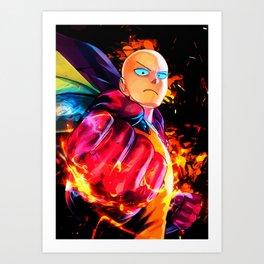 Colorful Fist Art Print
