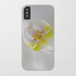 Orchid V iPhone Case