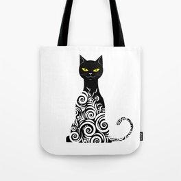 ornamental cat Tote Bag