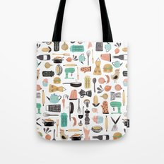 Kitchen Kitsch Tote Bag