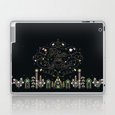 Hustle Like a Bee Laptop & iPad Skin