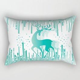 Dancing Deer Rectangular Pillow