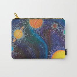 Spacial Relations Carry-All Pouch