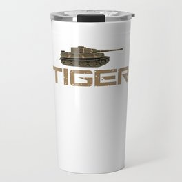 Tank Armoured Fighting Vehicle Combat Army Military Soldier Tiger Gift Travel Mug