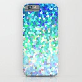 Mosaic Sparkley Texture G149 iPhone Case