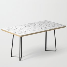 ginkgo leaves (white) Coffee Table