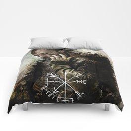 Trickster- Floki art Comforters