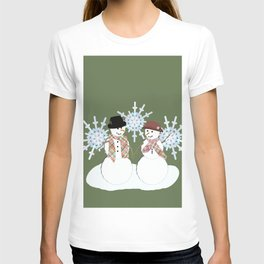 Winter Chill and Warm Hearts T-shirt