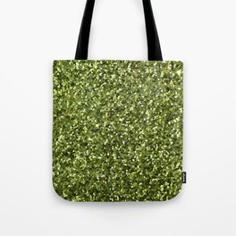 Green Sparkles Tote Bag