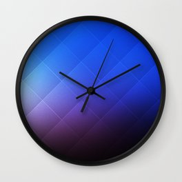 New Mexico at Twilight Wall Clock