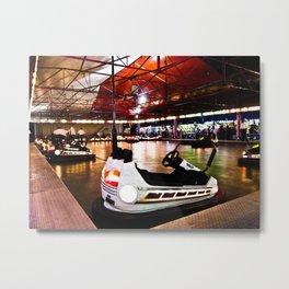 Bumper Cars Metal Print