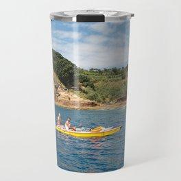 Kayaking in Azores Travel Mug