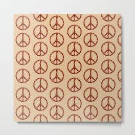 Hippie pattern Metal Print