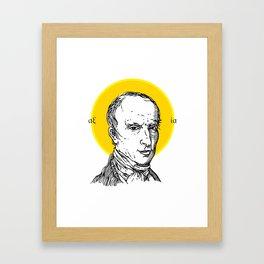 St. Cauchy Framed Art Print