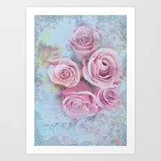 Are roses red ? Art Print