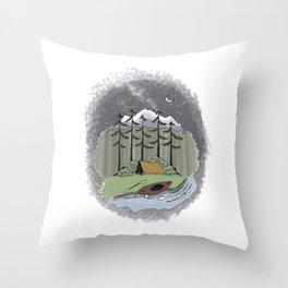 Aventuring Throw Pillow
