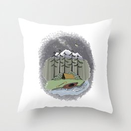 Aventuring Throw Pillow
