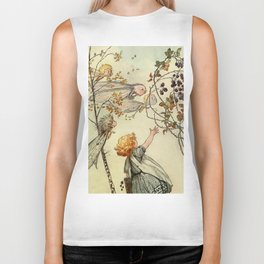 """Bother the Wind"" by Duncan Carse Biker Tank"
