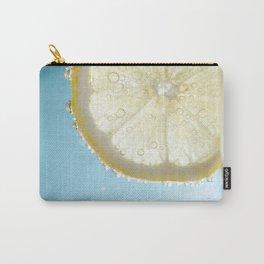 Bubbly Lemon Carry-All Pouch