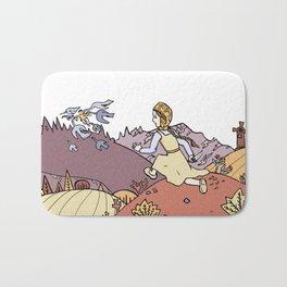 The Magic Swan Geese Bath Mat