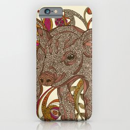 Paisley Piggy iPhone Case