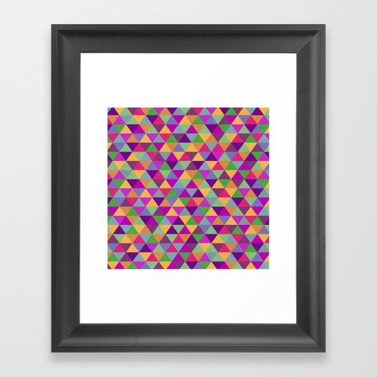 In Love with ▲ Framed Art Print