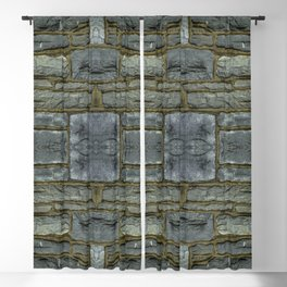 Stone Wall Blackout Curtain