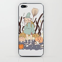 LOST ON THE WAY TO THE WITCH ACADEMY iPhone Skin