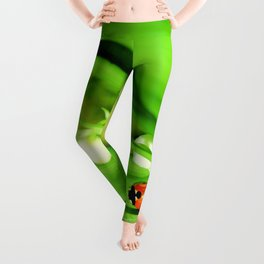 The Ladybug and Lily of the valley Leggings