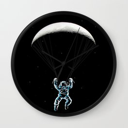 The Paratrooper Wall Clock