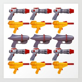 Radical Rayguns Art Print
