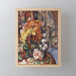 The Flowered Vase Framed Mini Art Print