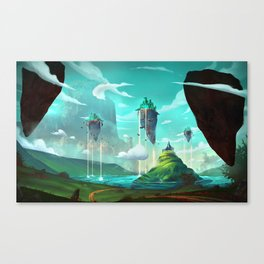 Road to Oz. Canvas Print