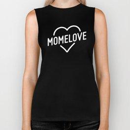 MOMELOVE - Logo Biker Tank