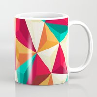 diamond Mugs featuring Diamond by Azarias