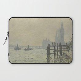 Claude Monet - The Thames Below Westminster Laptop Sleeve