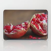 pomegranate iPad Cases featuring pomegranate by Life Through the Lens