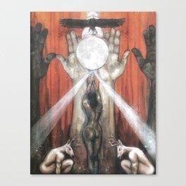 The Empress - Tarot Card Art Canvas Print