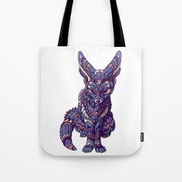Fennec Fox (Color Version) Tote Bag