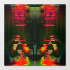 303030 (J Nude Glitch) Canvas Print