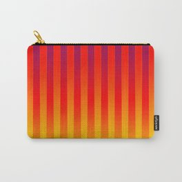 Gradient Stripes Pattern bry Carry-All Pouch