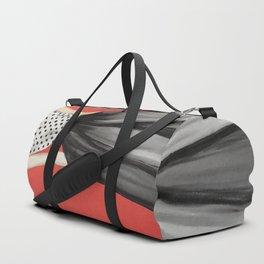 Portrait of a Model Woman Duffle Bag