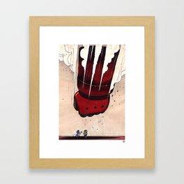 Smurfs? Framed Art Print