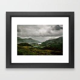 Ladies View Kerry Ireland Framed Art Print