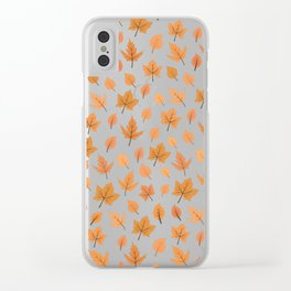 Hi Autumn Clear iPhone Case