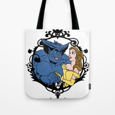 Beauty and Beast Tote Bag