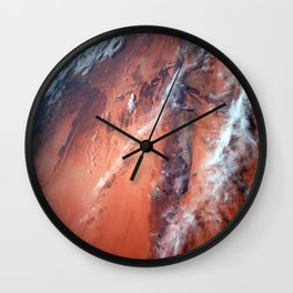 Richat Structure Wall Clock