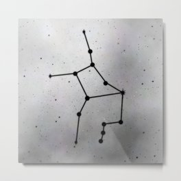 VIRGO (ZODIAC SIGNS) Metal Print